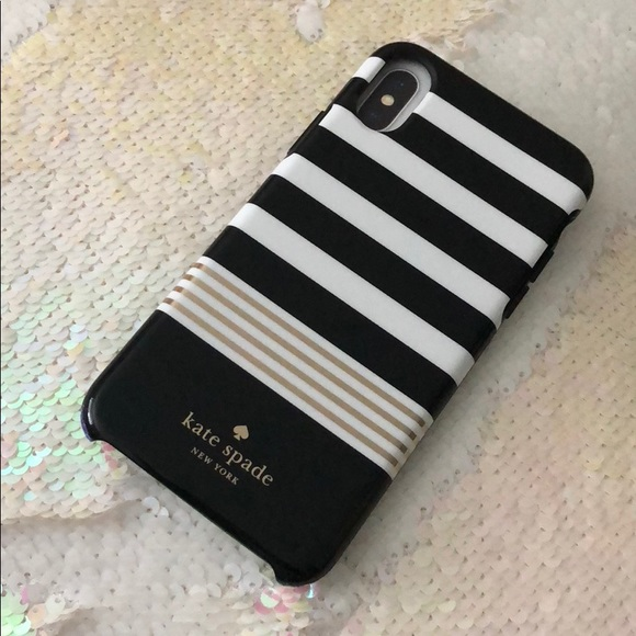 timeless design ea247 641fc Kate Spade New York IPhone 10 CASE NWT